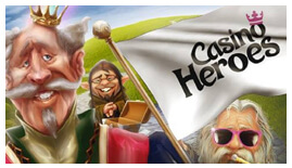 Casino Heroes inks a new deal with British game provider